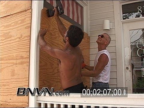 Hurricane Rita Video - Key West Florida - 9/19/2005 - Part 1