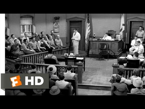 Mayella's Guilt - To Kill a Mockingbird (5/10) Movie CLIP (1962) HD
