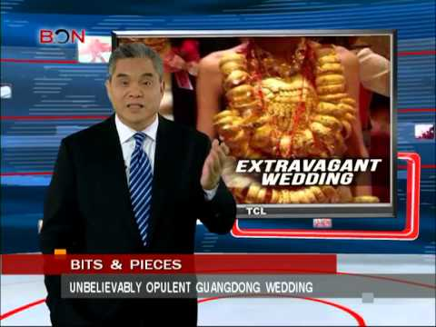 Unbelievably opulent guangdong wedding- May.27th.,2014 - BONTV China