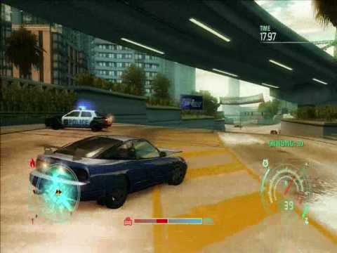 Need For Speed Undercover PC Gameplay 9500GS