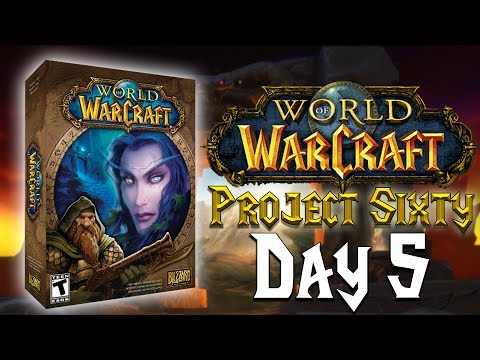 Live Stream Replay | Project Sixty - Day 5 | Hitting 60 & Gearing up for MC! [Legion]
