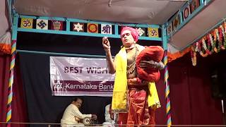 Yakshagana -- hasya - Ravishankar bhat - 1