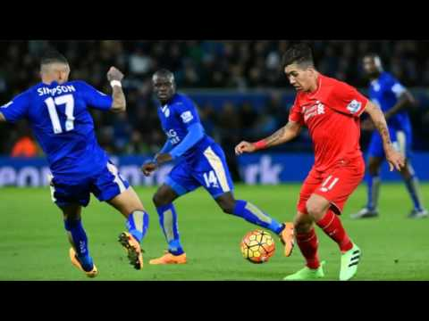 """Leicester City vs Liverpool FC (2:0) Premiere League 2016 """"Football in Slide"""""""