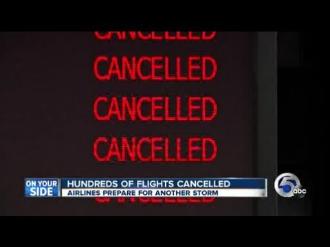 Flights canceled to the northeast