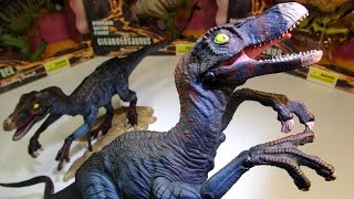 "ReSaurus Carnage Velociraptor and NEW ""Wild Adventures"" COPY!"