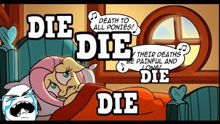 MY LITTLE PONY COMIC DUBS FLUTTERSHY MUST DIE