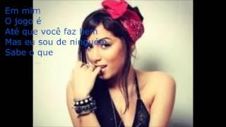 MC Anitta  Blá Blá Blá Letra