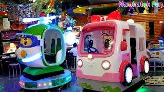 Naik odong-odong mobil mobilan mainan anak & mandi bola di Jakarta