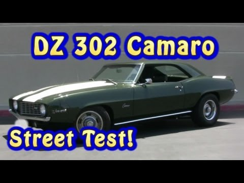 Camaro DZ 302(NRE Stealth 427CI) Street Test. 1969.   Nelson Racing Engines.  Chevelle,  Camaro