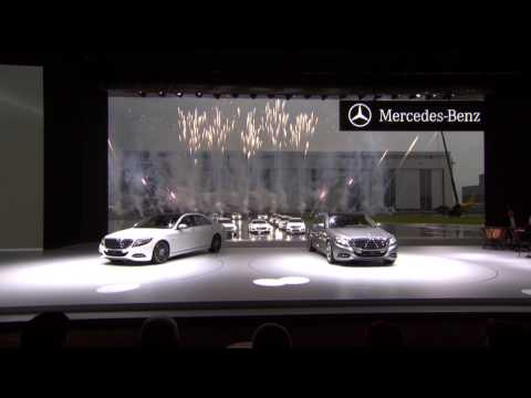 Mercedes-Benz TV: World Premiere of the new S-Class