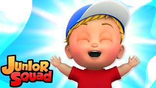 xа ха песня   песенки для детей   потешки   Junior Squad Russia   мультфильмы  