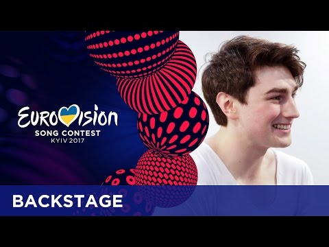 Brendan Murray (Ireland): 'There is going to be a hot air balloon above me'