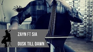 Zayn Dusk Till Dawn Ft Sia For Cello And Piano