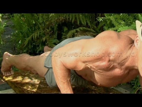 Proper Pushups - Back to Basics for big chest/pecs