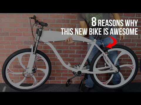 BikeBerry's BBR Tuning Complete Motor-Ready Bicycle for 2-Stroke Engine Kit