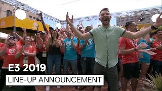 UBISOFT @ E3 2019 LINE-UP ANNOUNCEMENT