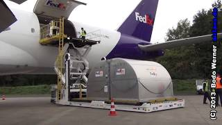 fedex 777 lade/loading demonstration
