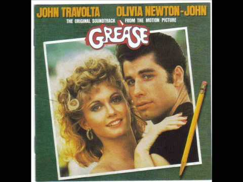 John Travolta y Olivia Newton Grease Grease Ost John Travolta