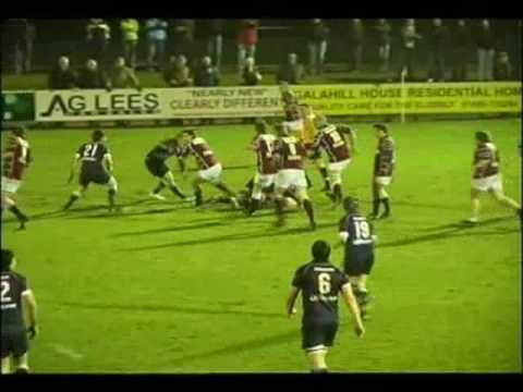 GALA v SELKIRK 2009 - BORDER LEAGUE RUGBY MATCH Video