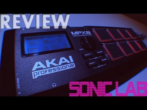 Akai MPX8 SD Sample Player - Sonic LAB Review