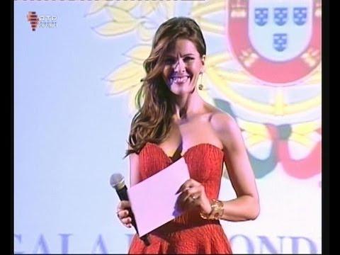 Sónia Araújo cerimónia de condecoração em Maputo
