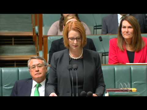 Emotional PM introduces DisabilityCare funding legislation
