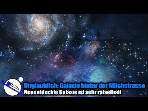 Unglaublich: Rätselhafte Galaxie direkt hinter der Milchstrasse - Antila 2
