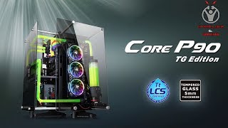Thermaltake-Italia Core P90 Tempered Glass Edition Mid-Tower Chassis