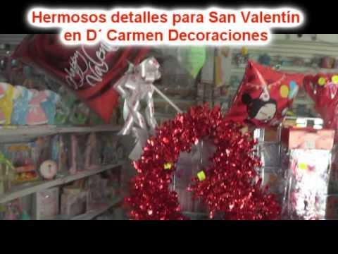 En d carmen decoraciones especiales para san valentin - Decoraciones para san valentin ...