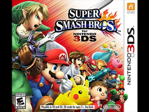 Super Smash Bros. 3DS Unboxing