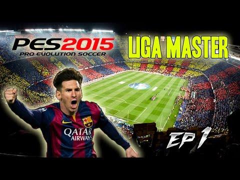 PES 2015 - LIGA MASTER | FC BARCELONA  - ¡FICHAJES! EP 1