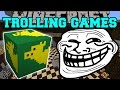 Minecraft SUPERHEROES TROLLING GAMES Lucky Block Mod Modded Mini Game mp3