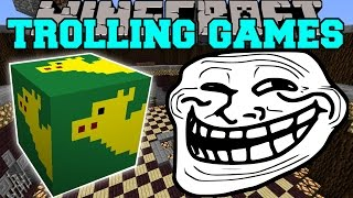 Minecraft: SUPERHEROES TROLLING GAMES - Lucky Block Mod - Modded Mini-Game