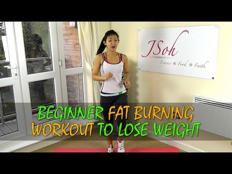 Beginner Fat Burning Workout to Lose Weight in 4 weeks (Home Exercises)