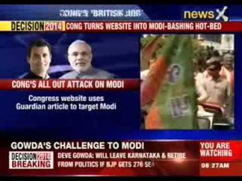 The  world against Narendra Modi