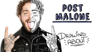 POST MALONE | Draw My Life