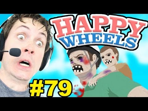 Happy Wheels - ZOMBIES