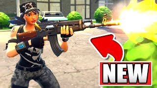 FORTNITE *New* Heavy AR Gameplay in TEAM TERROR LTM! (Fortnite: Battle Royale AK Gameplay!)