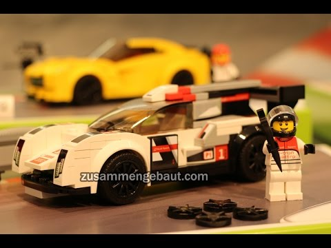 Toy Fair 2016: LEGO Speed Champions with Ford, Audi, Chevrolet & Porsche