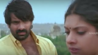 Maheswari Meets Raviteja And Gets Emotional About Her Father || Neekosam Movie Scenes