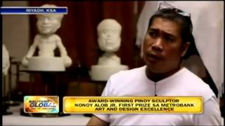 BG ROLAND BLANCO FIRST PRIZE PINOY SCULPTOR