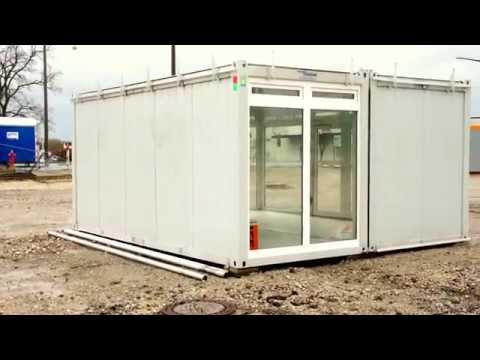 Affordable Housing Container Chalets