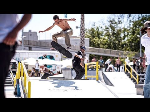 Damn Am Barcelona Qualification + Best Trick (Joorge Simoes, Giovanni Vianna)