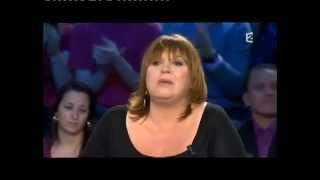 Michèle Bernier - On n'est pas couché 16 janvier 2010 #ONPC