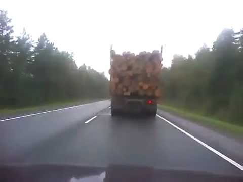 Good Timber Truck Driving Skills