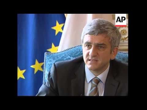Interview with France Defence Minister Herve Morin on Afghanistan