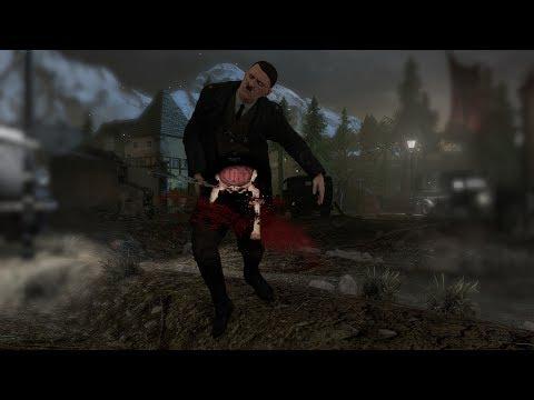 Kill Hitler In The Ballsack - Sniper Elite V2 Hitler Assasination Dlc video