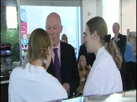 RUGROOM.TV - BBC Local TV covers the Launch of Project Search at Norfolk & Norwich Hospital