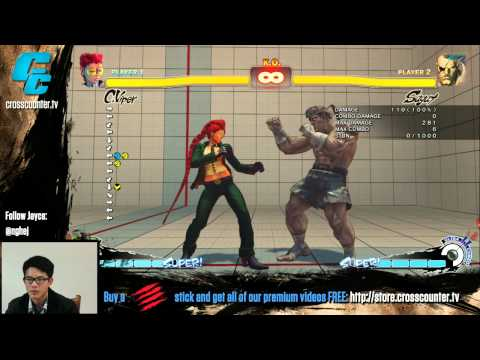 C Viper Tutorial 1: Overview & Basics w Jayce the Ace NgheJ Super Street Fighter 4 AE v