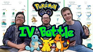 Pokémon GO IV Battle vs Hong | 1. Generation
